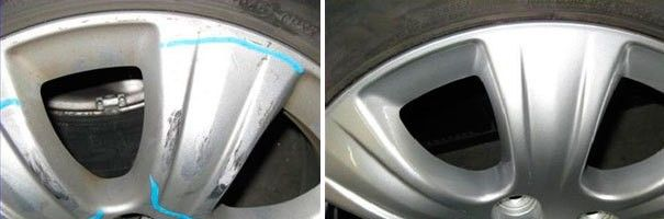 Wheel Repairs & Refinishing in Richmond