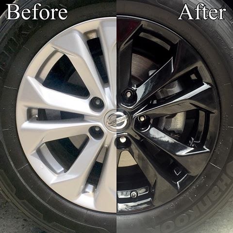before and after tires